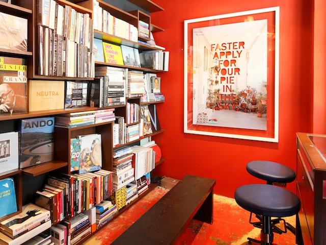 Something's brewing behind this unassuming bookshelf
