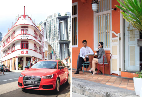 Keong Saik Guide - The Study with Audi A1 Sportback