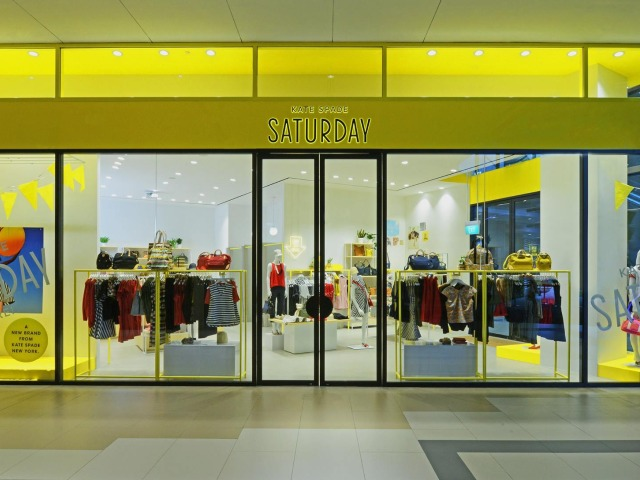 orchard road shopping guide | kate spade saturday singapore