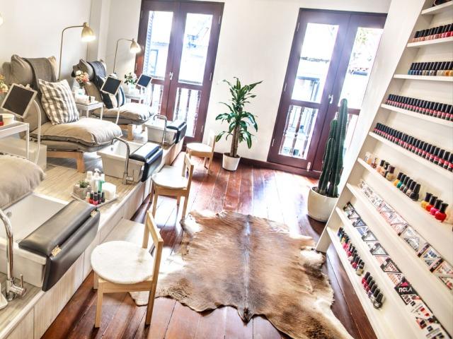 Nail salons in Singapore: The Nail Social on Haji Lane