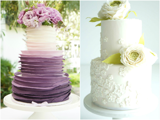 Gorgeous wedding and birthday cakes by Susucre