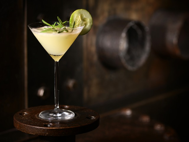 We love Martini Bar's Botanical Martini
