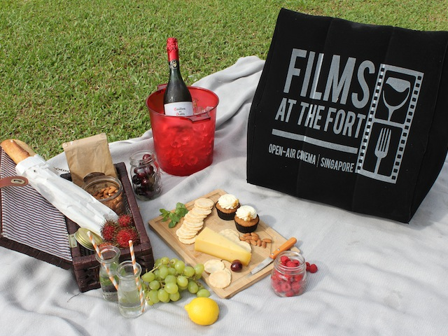 Singapore's first premier open-air cinema, Films At The Fort