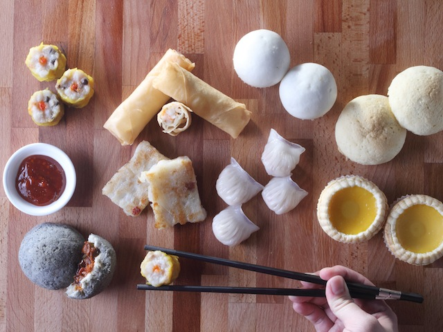 Don't forget to order London Fat Duck's dim sum