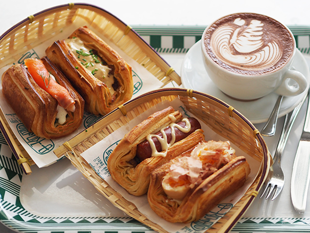 Try Tiong Bahru Bakery's new savoury croissants for lunch