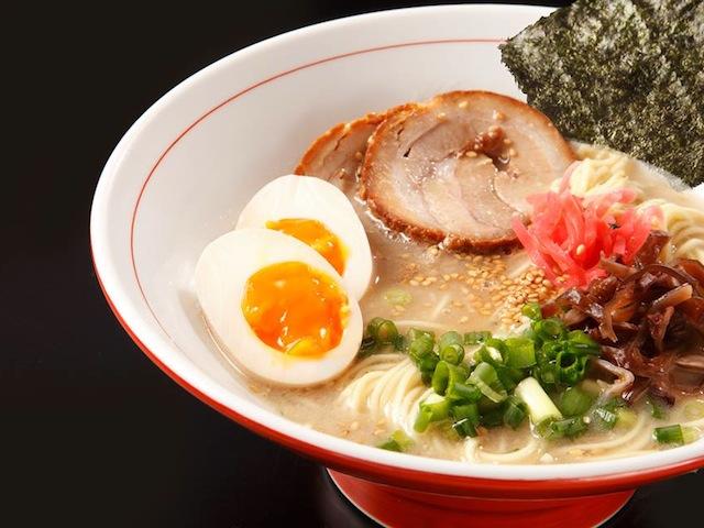 Not kidding: we can finish three bowls of Takumen's ramen.