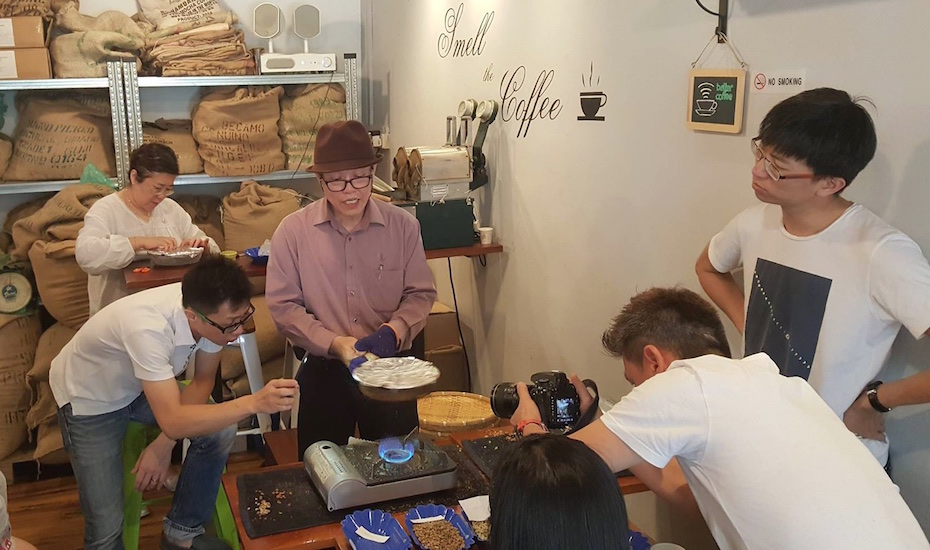 Mr. Tan Tiong Hoe offers over 50 years of expertise (Photo credit: Tiong Ho Speciality Coffee via Facebook)
