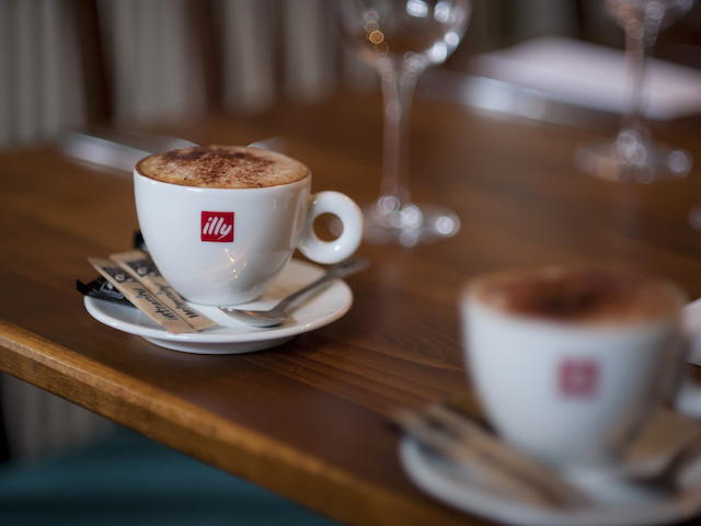 Explore the history of illy coffee at Scotts Square