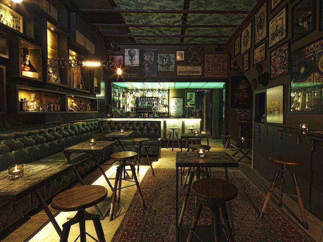 We love Copper's intimate lounge space