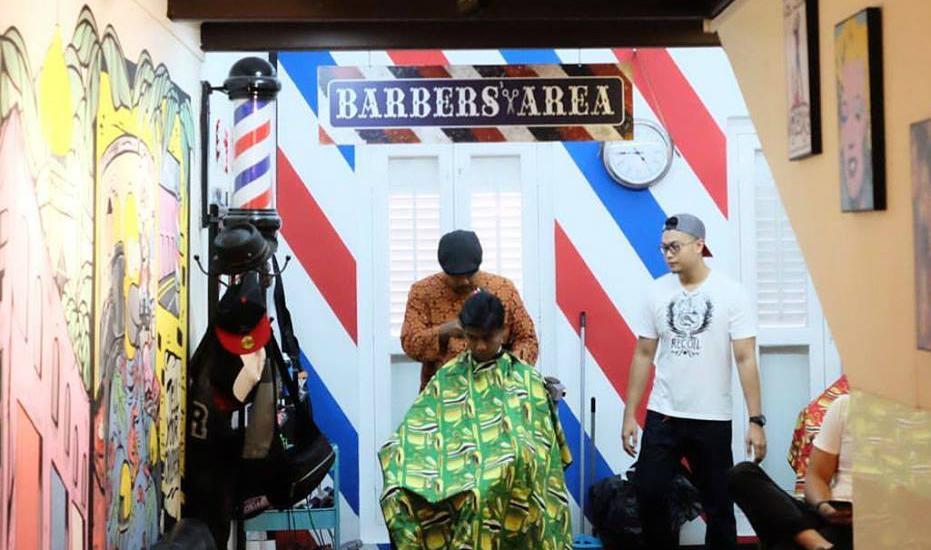 The 'A' Street Barber Shop (via Facebook)
