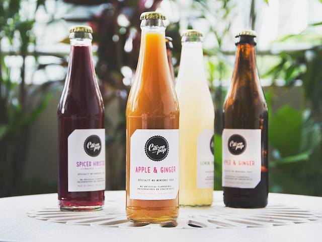 Additive and preservative-free handcrafted sodas by Citizen Pop