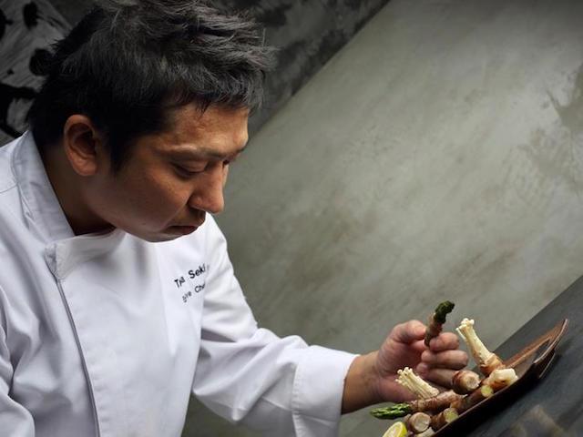 Chef Seki; Ikyu, Singapore