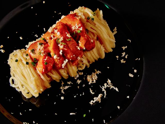 Give us three of Boruto's umami uni pasta, please!