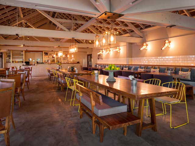 Tin Hill Social's ideal for communal dining