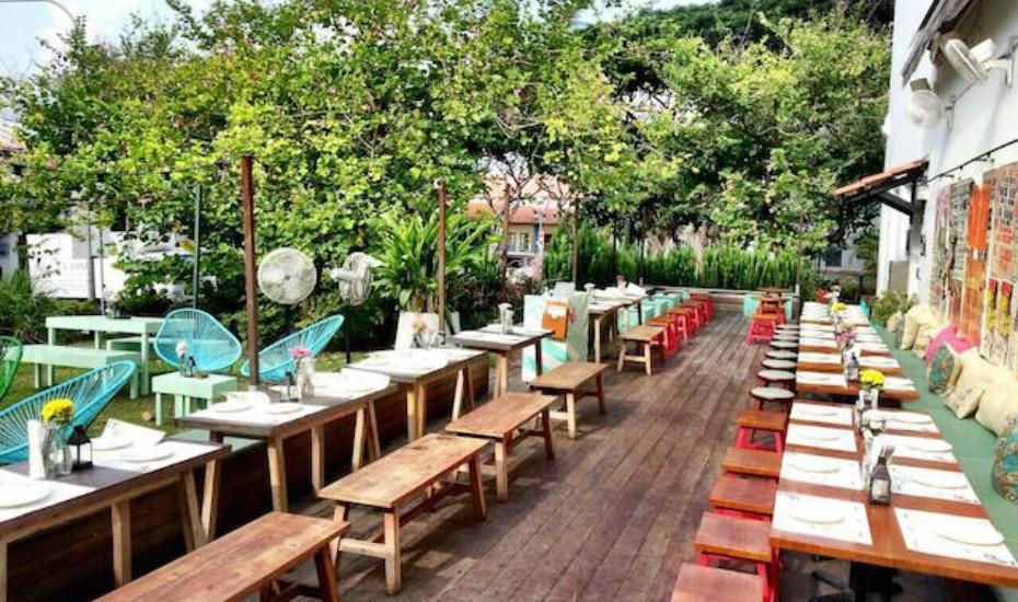 Alfresco Dining In Singapore Outdoor Restaurants On
