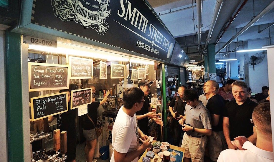Hawker centre beer goes crafty at Smith Street Taps (via Facebook)