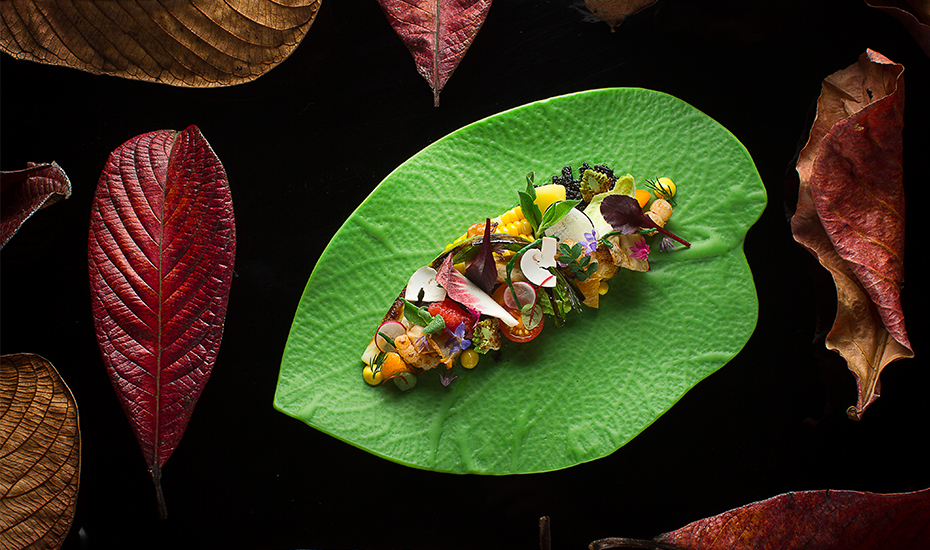 The Gastro Botanica cuisine of Jason Tan from Corner House