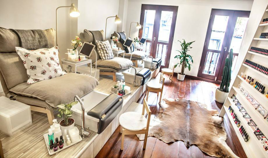 Nailed it here 39 s where to ace your mani pedis for Free people store decor