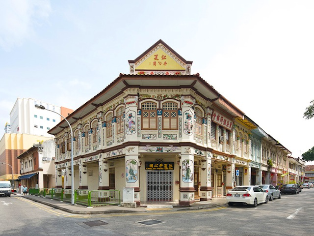 The architecture in Geylang is definitely in a class of its own (Credits: John Heng, Challenge.gov.sg)