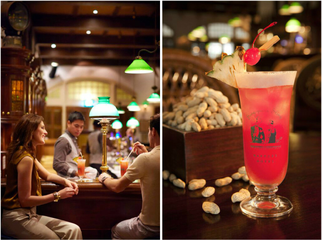 Savour the iconic Singapore Sling at Long Bar
