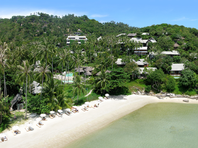The Kamalaya from above