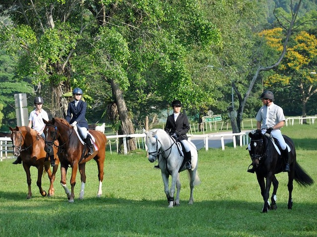Here's a fun girls day out idea: Trotting around Bukit Timah Saddle Club