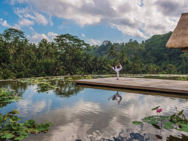 The uber luxurious Four Seasons Sayan in Ubud