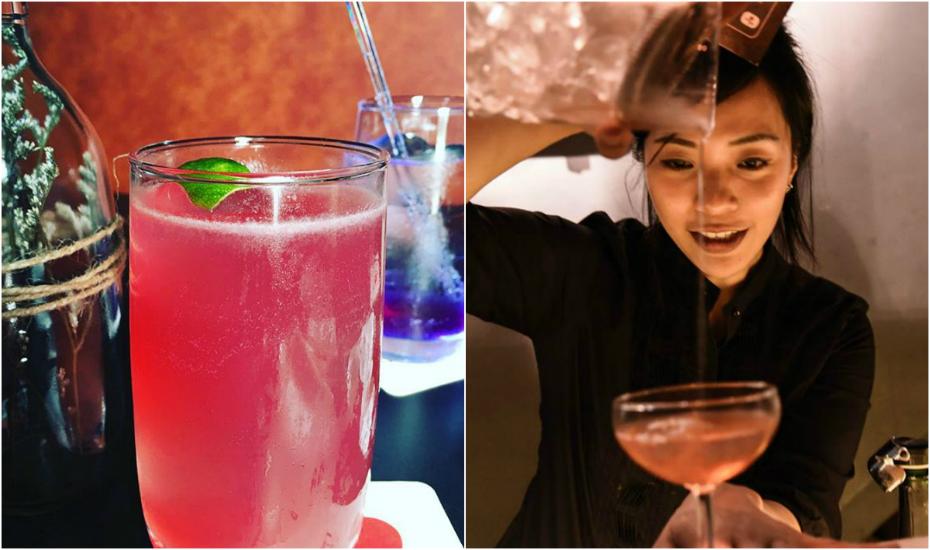 Kino Soh puts together unique highball cocktails (via Facebook)