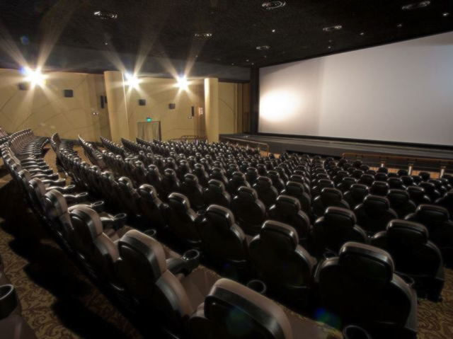 The interior of Shaw Theatres Lido