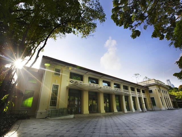 The exterior of Singapore Pinacothéque de Paris