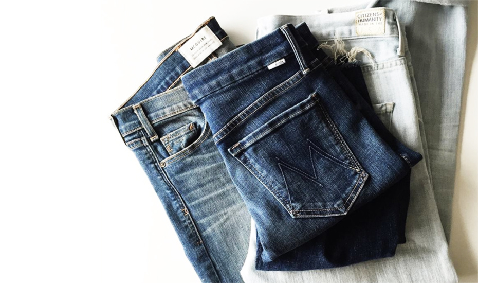 Luxury denim brands from LA – Citizens of Humanity and Mother are available in Club Monaco