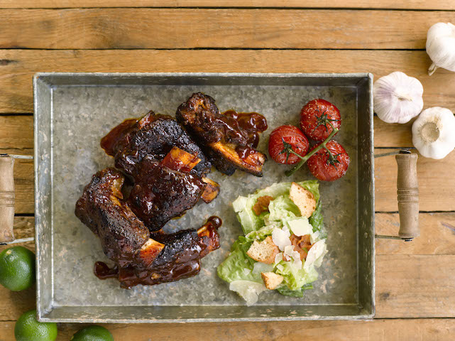 Slow Roasted Grass Fed Beef Back Ribs Recipe — Dishmaps