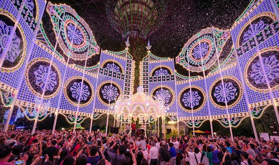 Christmas Wonderland at Gardens by the Bay (Credit: Christmas Wonderland at Gardens by the Bay via Facebook)