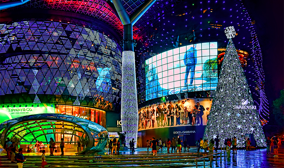 in Singapore Where to see holiday lights and spectacular displays