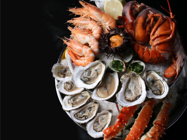The Black Swan seafood platter