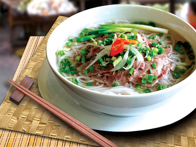 Ngon's signature beef pho