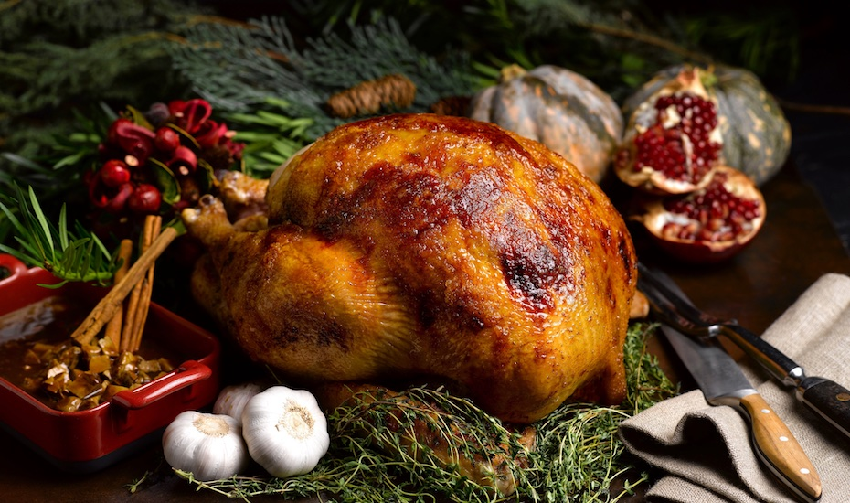 Enjoy a decadent Thanksgiving feast at the swish Brasserie Les Saveurs (Photo credit: St Regis Singapore)