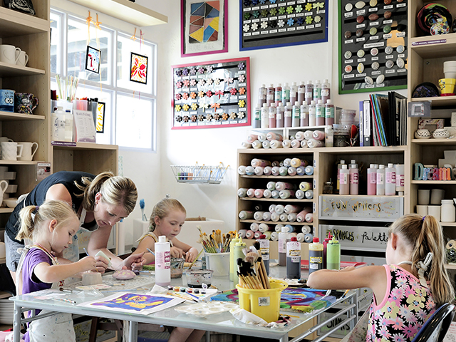Impressions Art Studio welcomes people of all ages!