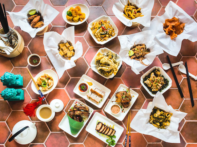 Chinese tapas bar Sum Yi Tai at Boon Tat Street