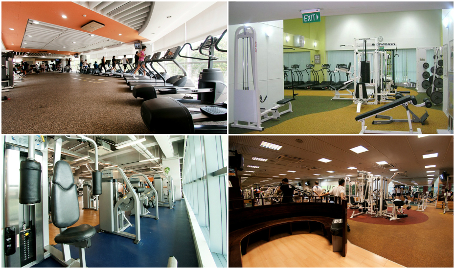 ActiveSG gyms around Singapore