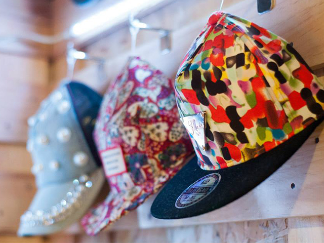 Cool trendy hats at JCUBE, level 2
