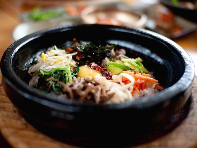 Bibimbap, a classic Korean dish (Photo credit: Snippy Hollow via Flickr)