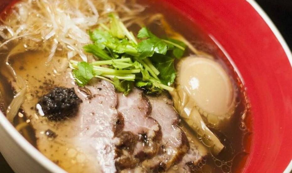 Michelin-starred ramen from Tsuta