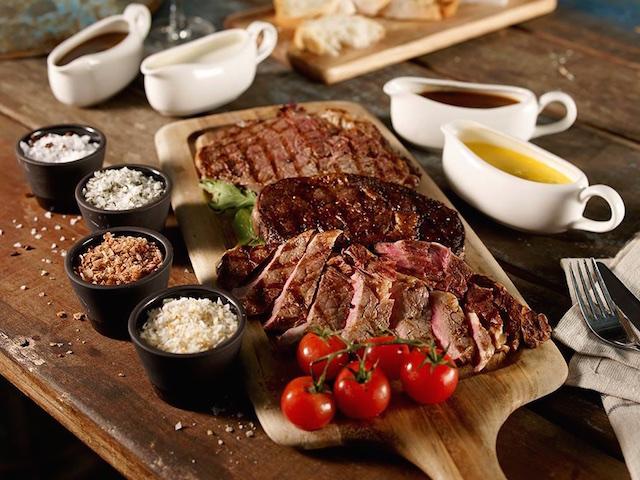 The ribeye tasting platter at Barossa (Photo credit: Barossa via Facebook)