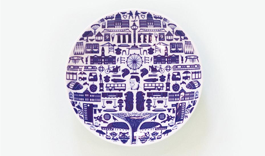 Supermama One Singapore 2015 plate