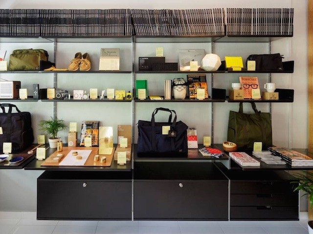 The Monocle Shop's curated selection of lifestyle goods (Photo credit: Monocle Shop Singapore)
