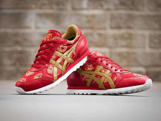 Onitsuka Tiger x Tokidoki Chinese New Year edition of sneakers