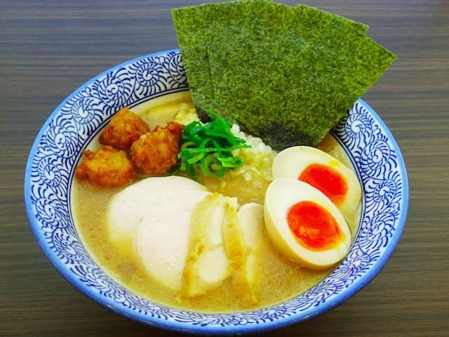 Menya Takeichi's signature chicken paitan ramen