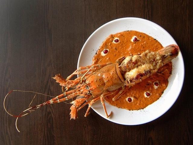 Lobster in gravy at Kinara (Photo credit: Kinara Group via Facebook)