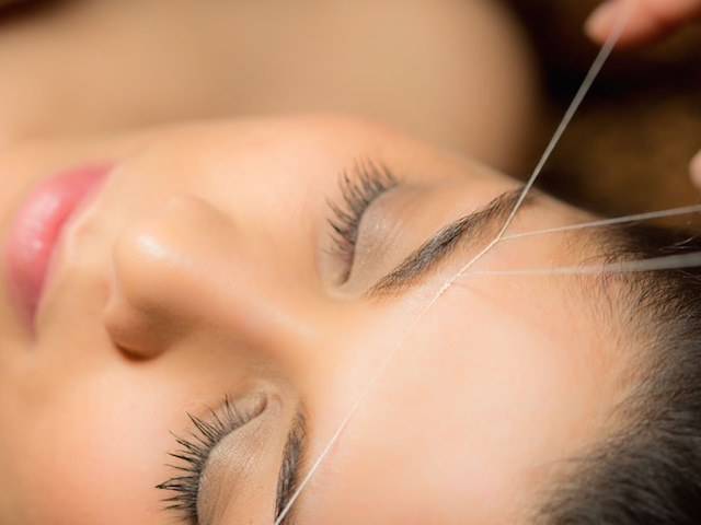Get your eyebrows neatened up at Rupini's